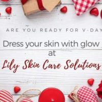 Skincare salon February, Valentine's promotions online in CA